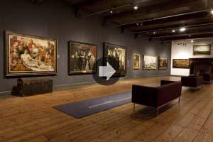 Overzicht zaal 8 Museum Prinsenhof Delft- fotograaf MarcoZwinkels